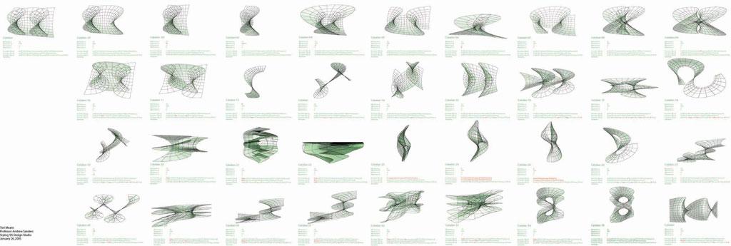 Rhino3DE : Math in Architecture
